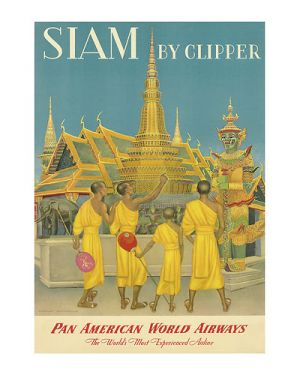 Beautiful photos of Asia - vintage poster - siam.jpg